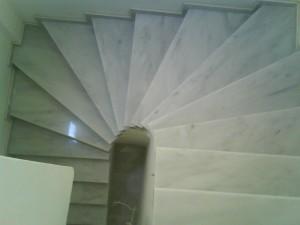 Μάρμαρο σε σκάλες